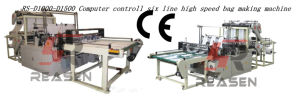 Six Lines High Speed Bag Making Machine (RS-D1000/ 1200/ 1500)