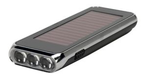 High Lumen 7 LED Light Solar Torch for Camping pictures & photos