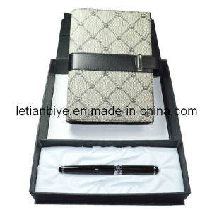 Gift Pen Set, Metal Gift Pen with Notebook (LT-C514) pictures & photos