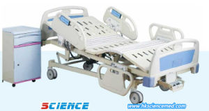 Five Functions Luxurious ICU Electric Hospital Bed with CE Certificate pictures & photos