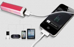 2600mAh Mini Power Bank&Smart Phone Charging Station