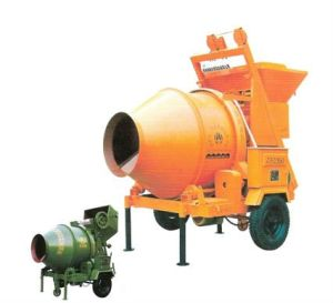 Mobile Type Concrte Mixer (JZC250) , Mini Concrete Mixer pictures & photos