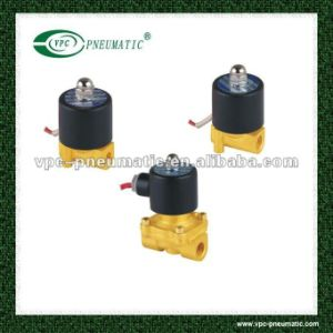 2W (UD) Series Small Oriffice Solenoid Valve Brass Valve Air Valve pictures & photos