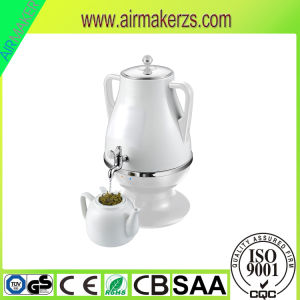 Home Appliance Plastic Electric Samovar with 0.8L Teapot& Russian Flower pictures & photos