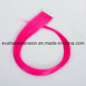 European Remy Tape in Hair Extensions Real Human Hair pictures & photos