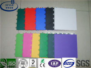 Good Bound Force Suge Suspended Interlocking Sports Flooring pictures & photos