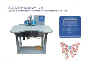 High Speed Liquid Srystal Double Disc Rhinestone Hot Fix Machine /High Quality (HT-Y2)