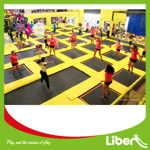 Professional Indoor Trampoline Park Design with Soft Padding Wall pictures & photos