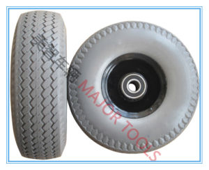 350-4 Solid Foam Tubeless Wheel for Wheelbarrow pictures & photos