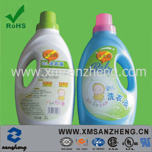 Custom Safety Weather Resistant Colorful Shampoo Self Adhesive Bottle Stickers (SZXY010) pictures & photos