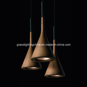 Professional Manufacturer Imitated Cement LED Pendant Lamp (GD-30202-1) pictures & photos
