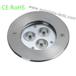 CE Quality LED Fountain Pool Light with Stainless Steel pictures & photos