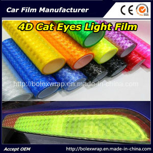 4D Cat Eyes Car Headlight Film/Car Light Film pictures & photos