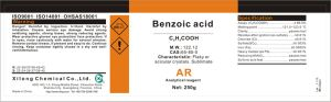 Lowest Price Benzoic Acid 95% Ar Grade pictures & photos