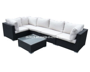 Weaving Rattan Wicker Sofa (KY801)