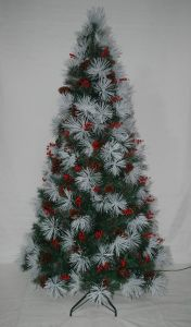 Realist Artificial Christmas Tree with String light Multi Color LED Decoration (7SXA) pictures & photos