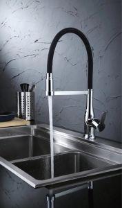 Modern Nola Single Lever Flex Commercial Style Kitchen Faucet GS-3069 pictures & photos