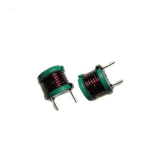 Leaded Inductors with High Saturation Material, Low DC Resistance and Polyolefin Shrink Tube