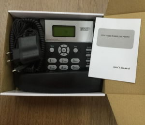 Quad Band One/Dual SIM Card GSM Desktop Phone pictures & photos