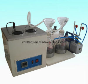 Weight Method Lubricant Oil Mechanical Impurities Tester (PC-511) pictures & photos