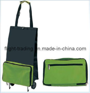 Foldable Handle Trolley Bag with Wheels- Dxb-1241 pictures & photos