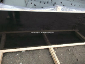 Shanxi Black Granite Slabs for Kitchen Top, Vanititop, Countertop pictures & photos