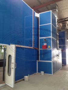 Large Industrial Car Spray Painting Booth for Bus & Truck pictures & photos