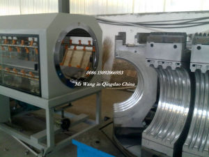 HDPE/PVC/PP Double Wall Corrugated Pipe Production Line (200mm-500mm)