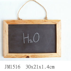 En71 ASTM Wood Blackboard with Natural Slate pictures & photos