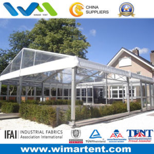 100 People Crystal Roof Wedding Glass Tent for Sale pictures & photos