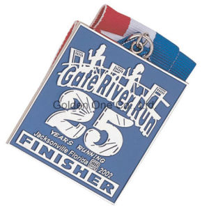 Custom Metal Soft Enamel Nickel Plated Sport Souvenir Medal pictures & photos