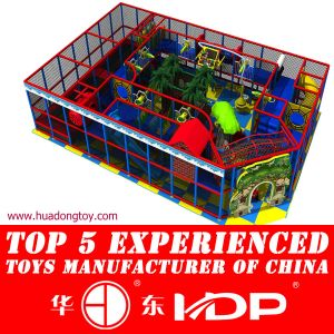 Indoor Playground and Trampoline Assembled pictures & photos