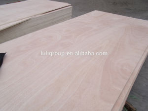 Best Price Okoume Plywood, Double Side Sanded Okoume Veneer Plywood with Two Times Hot Processing pictures & photos