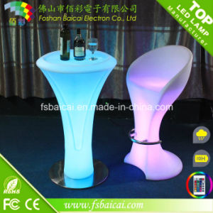 LED Bar Stand High Table and Chair