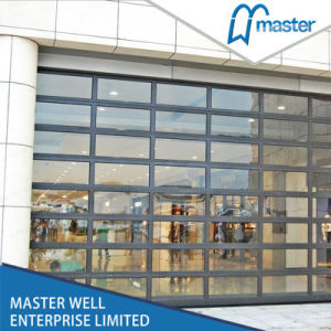 Aluminum Frame Transparent Panels Garage Door pictures & photos