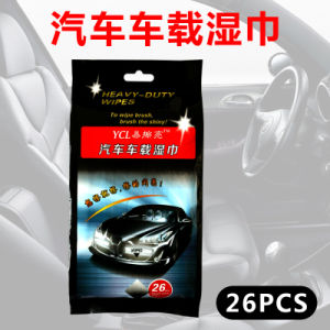 26 PCS Car Cleaning Wet Wipes pictures & photos