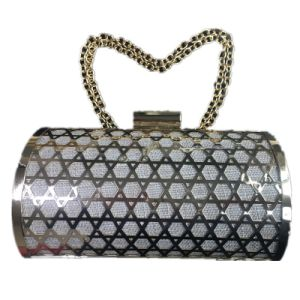 Metal clutch Fashion Party Bag with Chain Eveningbag pictures & photos