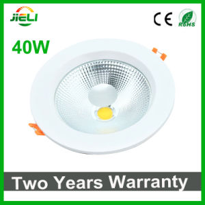 Two Years Warranty 40W COB LED Recessed Down Light pictures & photos