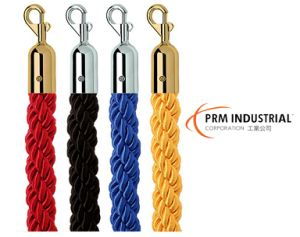 "1"" Braided Rope for Crowd Control Post pictures & photos"