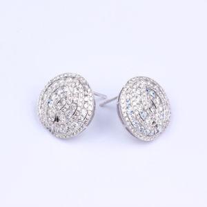 Gold Diamond Earrings (E37)