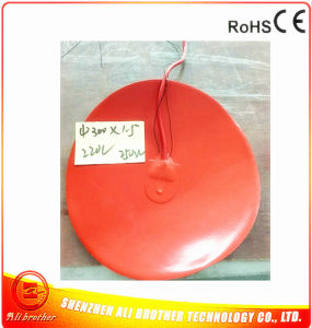 Flexible Silicone Heater for 3D Printer 220V 250W Diameter 300*1.5mm pictures & photos