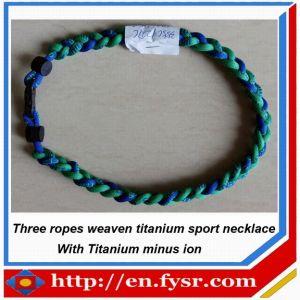 2012 Weaven Braid Titanium Necklace (FY-YN008)