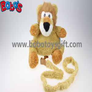 """11.8""""Lovely Yellow Plush Lion Children Backpack Children Not Lost Bags Bos-1238/30cm pictures & photos"""