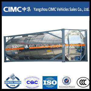 Cimc 20ft ISO Tank Container 40ft Liquid Chemical Tank Container pictures & photos