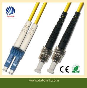 2m ST-LC Duplex 62.5um Patch Cable pictures & photos