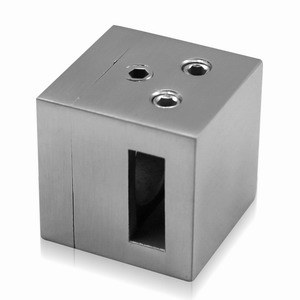 Stainless Steel Bar Holder for Square Balustrade Systems pictures & photos