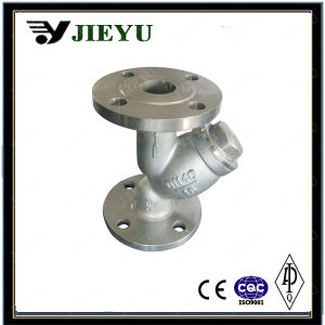 DIN Pn16 Cast Steel Flange Y Type Strainer pictures & photos