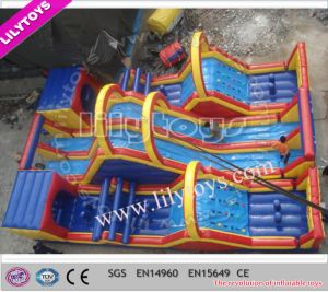 Hot Selling Adrenaline Rush Obstacle Course for Rental (Lilytoys-New-024)