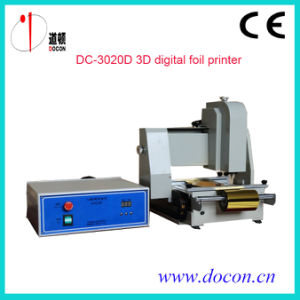 3D Digital Foil Printer for Wood pictures & photos