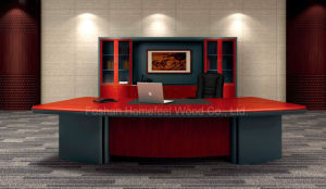 2016 L Shaped Wooden Executive Desk Executive Office Desk (HF-LTA026) pictures & photos
